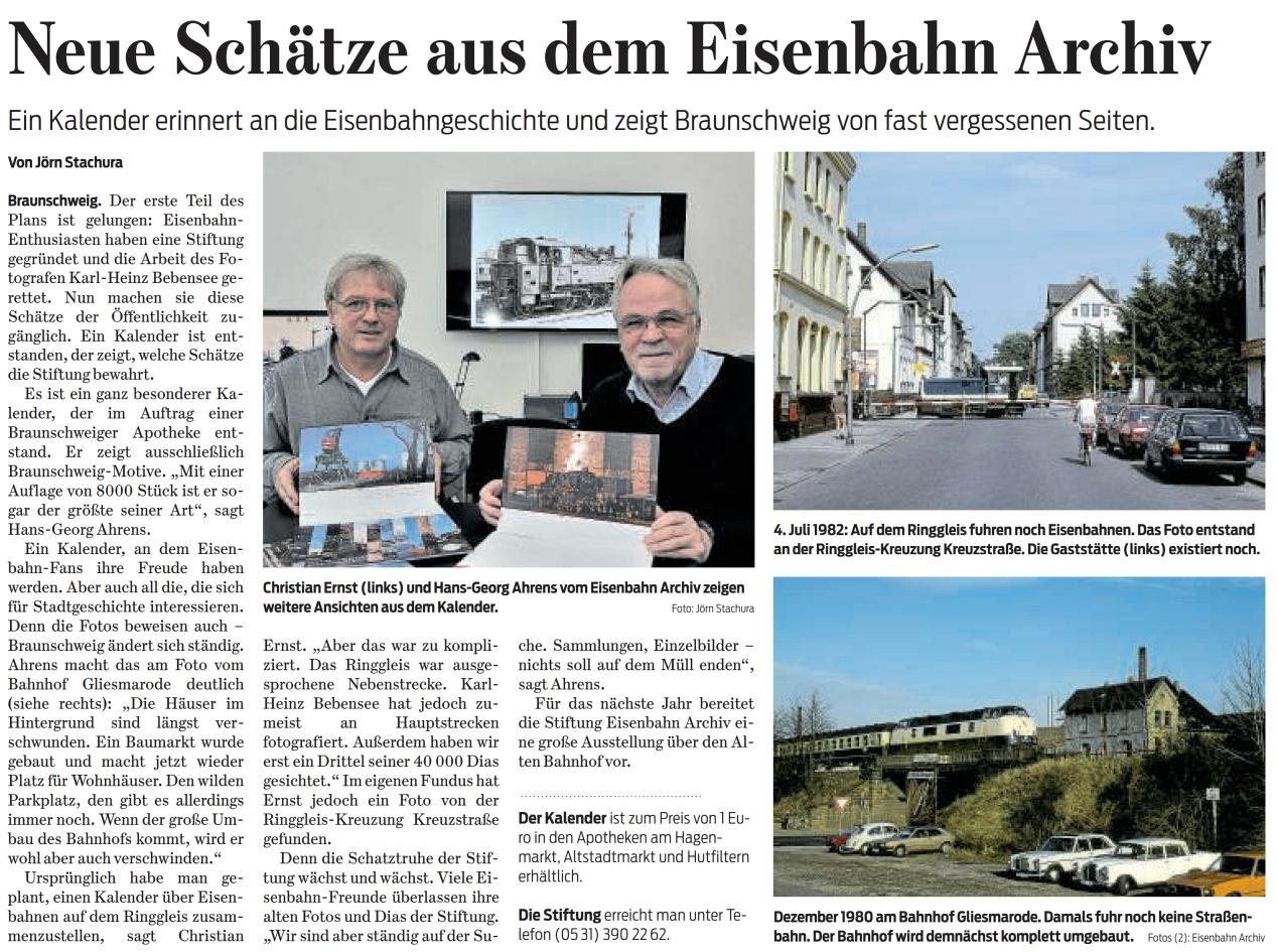 Braunschweiger Zeitung 18.12.2017