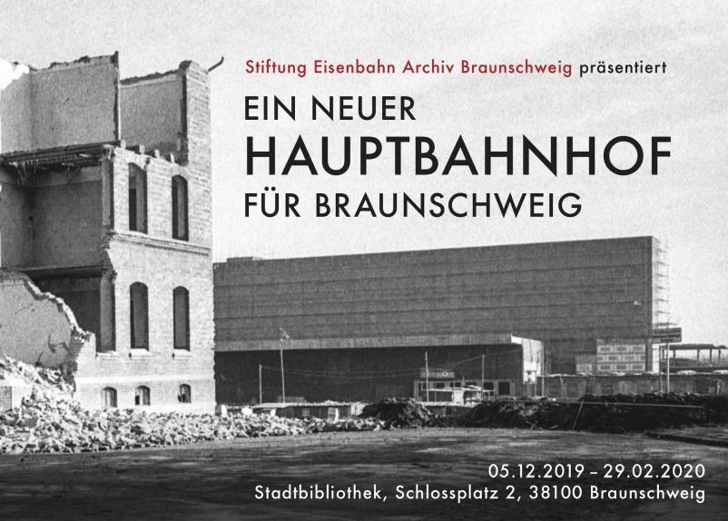 Eisenbahnarchiv_Stadtbibliothek_Werbebanner_Neubau_Hbf