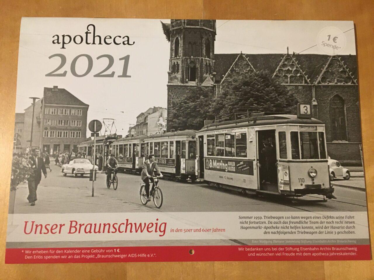 Kalender apotheca 2021